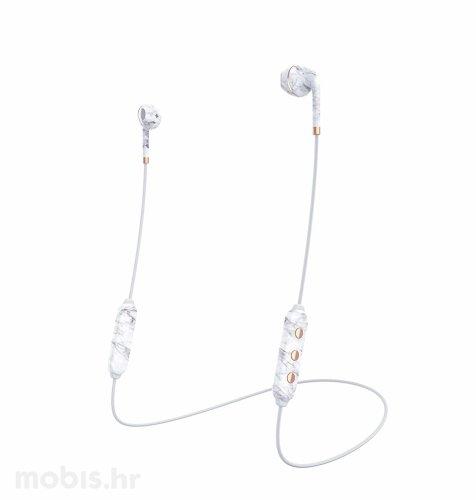 Happy Plugs wireless 2bežične slušalice: bijelo mramorne