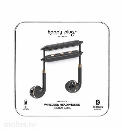 Happy Plugs wireless 2bežične slušalice: crno zlatne