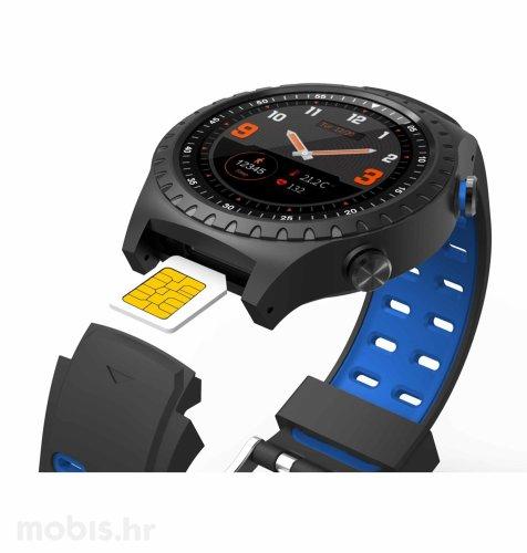 Evolveo Sportwatch M1S: plavo crni