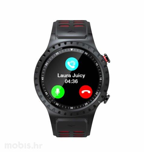 Evolveo Sportwatch M1S: crveno crni