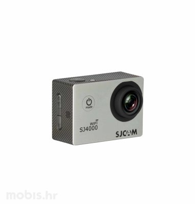 Akcijska kamera SJ4000 Wi-Fi: srebrna