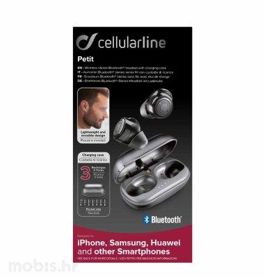 Cellularline slušalice BT Petit: crne
