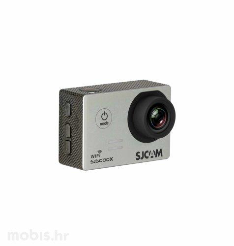 Akcijska kamera SJ5000x Elite: srebrna