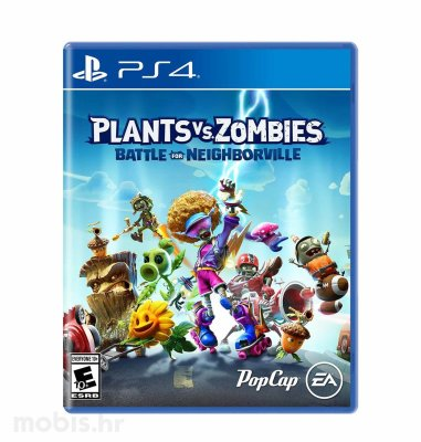Plants VS Zombies: Battle for Neighborville igra za PS4
