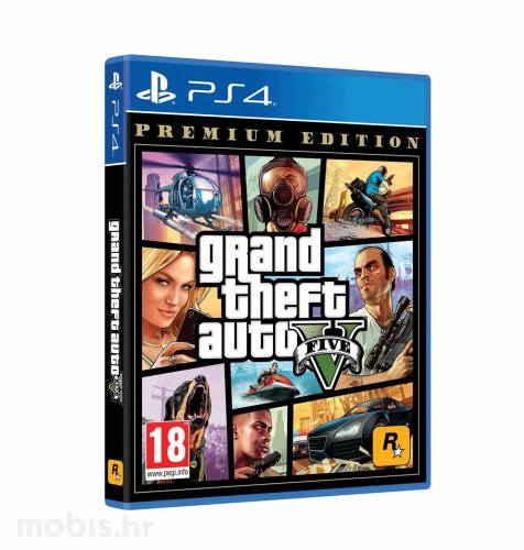 GTA V Premuim Edition igra za PS4