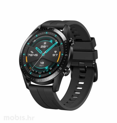 Huawei Watch GT 2 (46 mm): crni