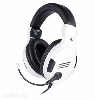 BigBen Stereo Gaming Slušalice V3 za PS4: bijele