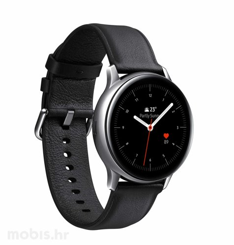 Samsung Galaxy Watch Active 2 (R820): crni silikonski remen