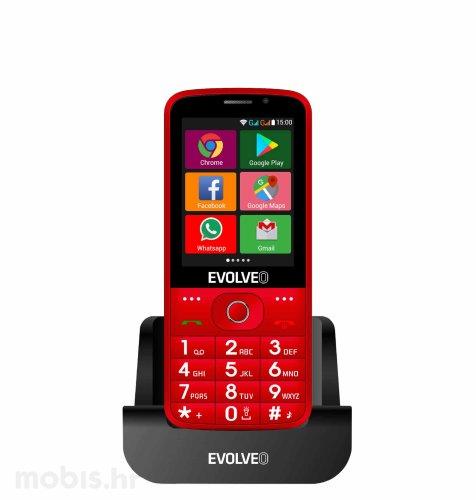EVOLVEO EasyPhone AD: crveni