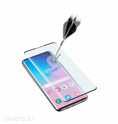 Cellular line zaštitno staklo za uređaj Samsung Galaxy S10: crno