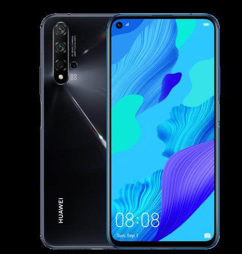 Huawei Nova 5T Dual SIM: crna