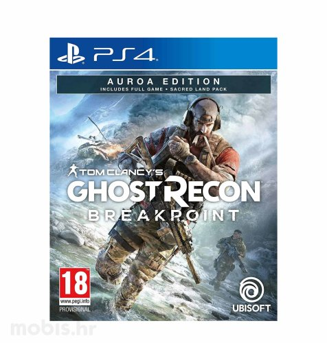 Tom Clancy's Ghost Recon Breakpoint Aurora Deluxe Edition igra za PS4