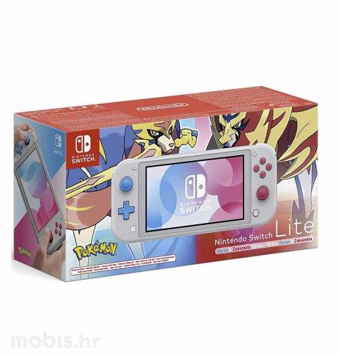 Nintendo Switch lite konzola: Pokemon Zacian & Zamazenta limited edition