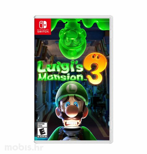 Luigi's mansion 3 igra za Nintendo Switch