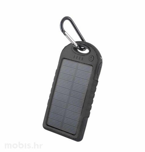 Forever Solarni Punjač STB-200 5000 mAh: crni