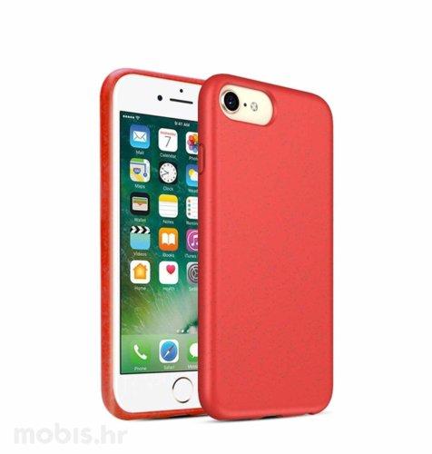 BIOIO maskica za Apple iPhone 7 Plus/8 Plus: crvena