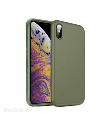 BIOIO maskica za Apple iPhone XS Max: zelena