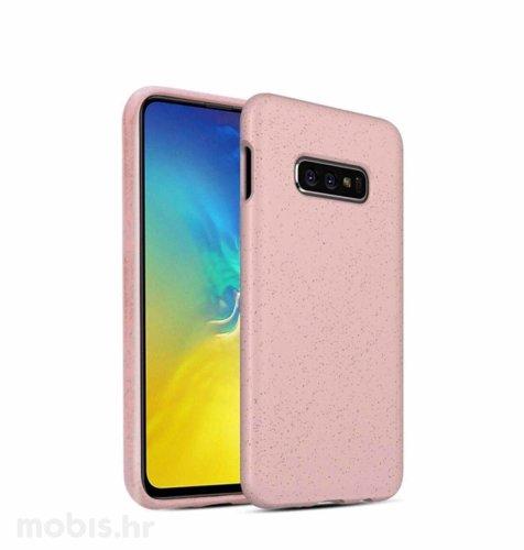 BIOIO maskica za Samsung S10 Plus: roza