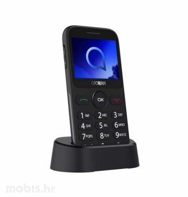 Alcatel OT-2019G: srebrni