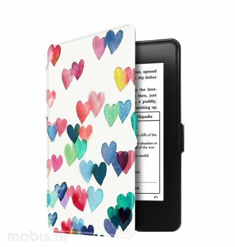 Preklopna maska za Kindle Paperwhite 3: srca