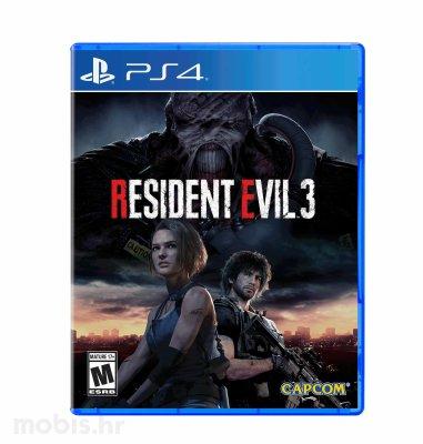 Resident Evil 3 REMAKE igra za PS4