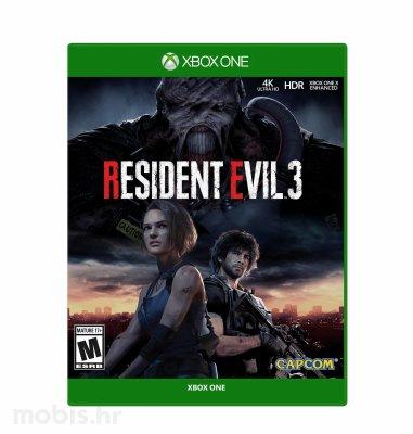 Resident Evil 3 REMAKE XB1 igra Xbox One
