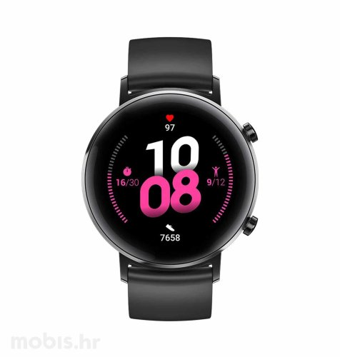 Huawei Watch GT 2 (42 mm): crni sportski