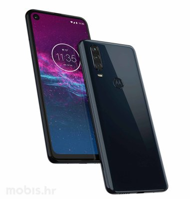 Motorola One Action: plava