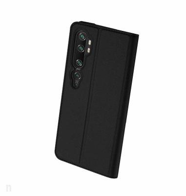 JCM preklopna maska za uređaj Xiaomi Mi Note 10: crna