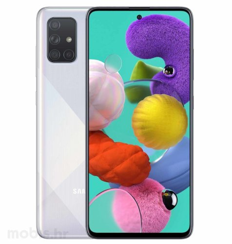 Samsung Galaxy A51 4GB/128GB Dual SIM: bijeli