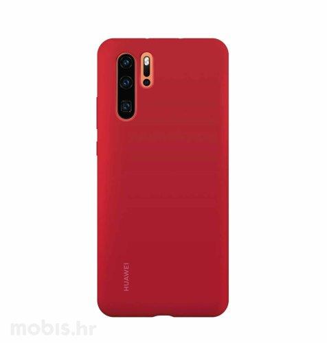 Huawei silikonska maskica za Huawei P30 Pro: crvena
