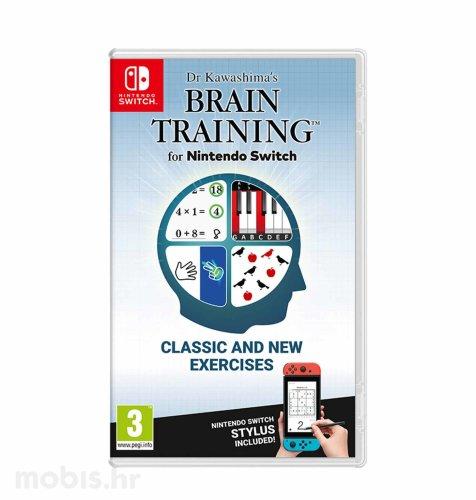Kawashima's Brain Training Switch igra za Nintendo Switch