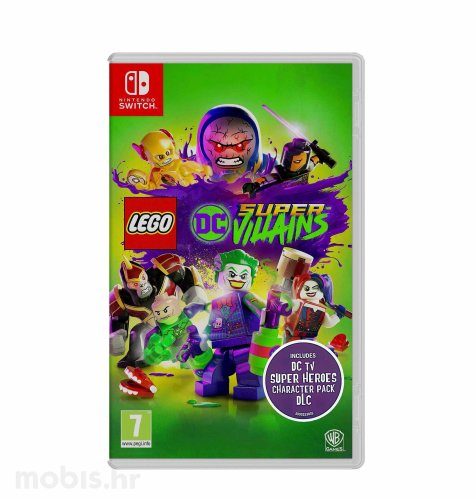 Lego DC Super Villains igra za Nintendo Switch