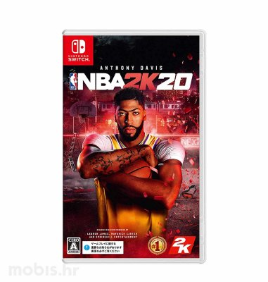 NBA 2K20 Standard Edition igra za Nintendo Switch