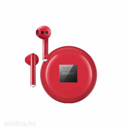 Huawei Freebuds 3 slušalice: crvene