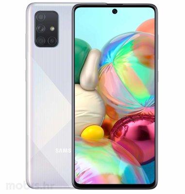 Samsung Galaxy A71 Dual SIM 6GB/128GB: srebrni