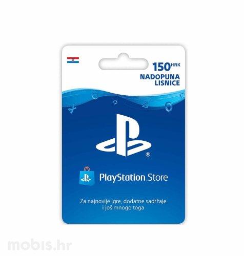 PlayStation Live Cards Hanger bon u vrijednosti od 150kn