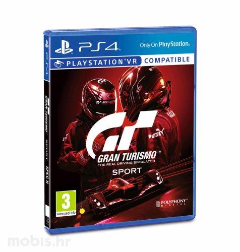 Gran Turismo Sport Spec II igra za PS4