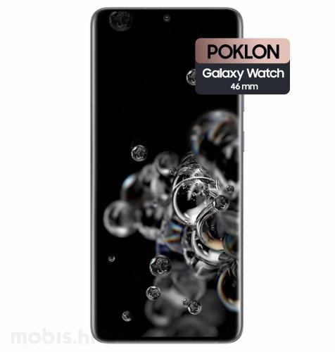 Samsung Galaxy S20 Ultra 5G 12GB/128GB: svemirsko crni + Samsung Watch R800