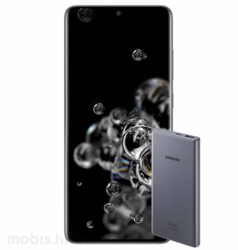 Samsung Galaxy S20 Ultra 5G 12GB/128GB: svemirsko crni + Samsung powerbank