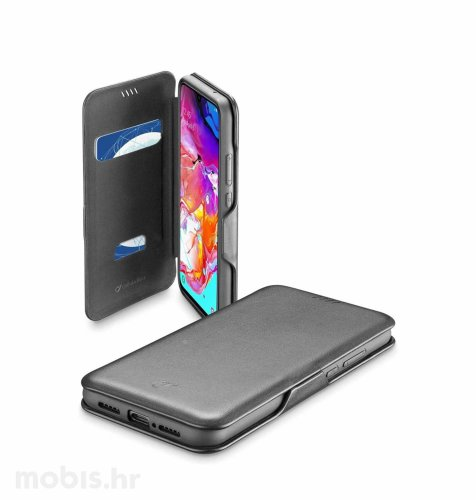 Cellular line preklopna maskica za Samsung Galaxy A71: crna