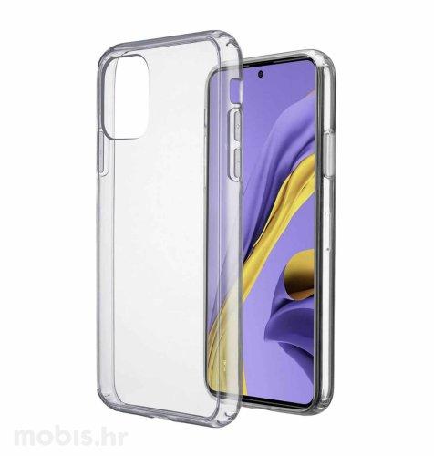 Cellular line plastična zaštita za uređaj Samsung Galaxy A51: prozirna