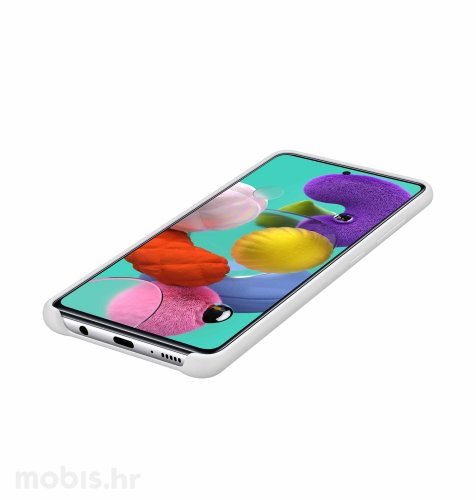 Zaštitna maskica za Samsung A51: bijela