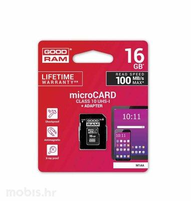 Good Ram SD Micro kartica 16GB