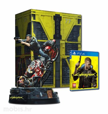Cyberpunk 2077 Collector's Edition igra za PS4