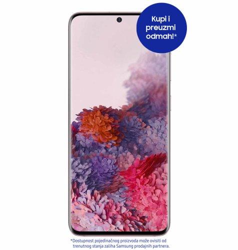 Samsung Galaxy S20 8GB/128GB: nebesko rozi