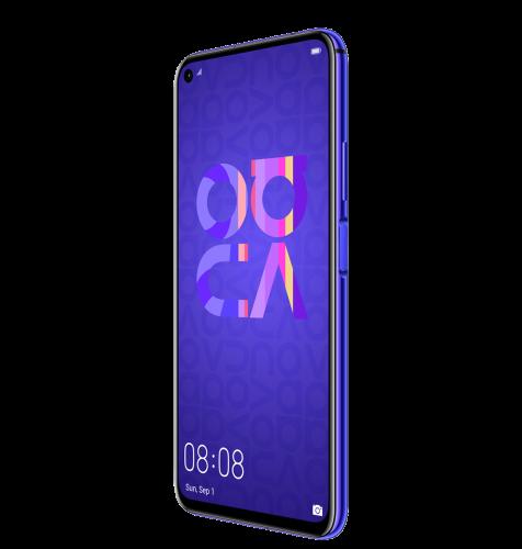 Huawei Nova 5T Dual SIM: ljubičasta + Huawei Band 4: crna