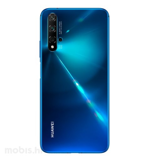 Huawei Nova 5T Dual SIM: plava + Huawei Band 4: crna