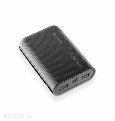 Cellularline prijenosna baterija 10000 mAh: crna