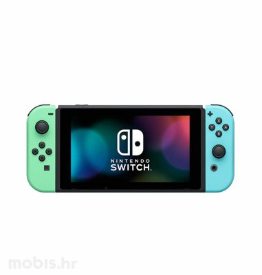 Nintendo Switch Joy-Con Had: zelena i plava + Animals Crossing New Horizons